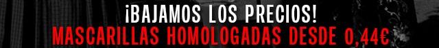 Ofertas Mascarillas Homologadas. MAscarillas FFP2 y Mascarillas KN95. Comprar online