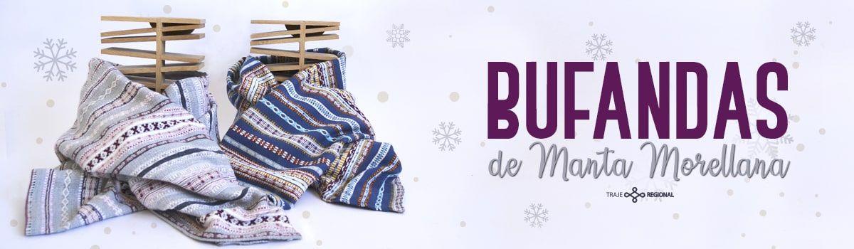 Bufandas hechas e Manta Morellana