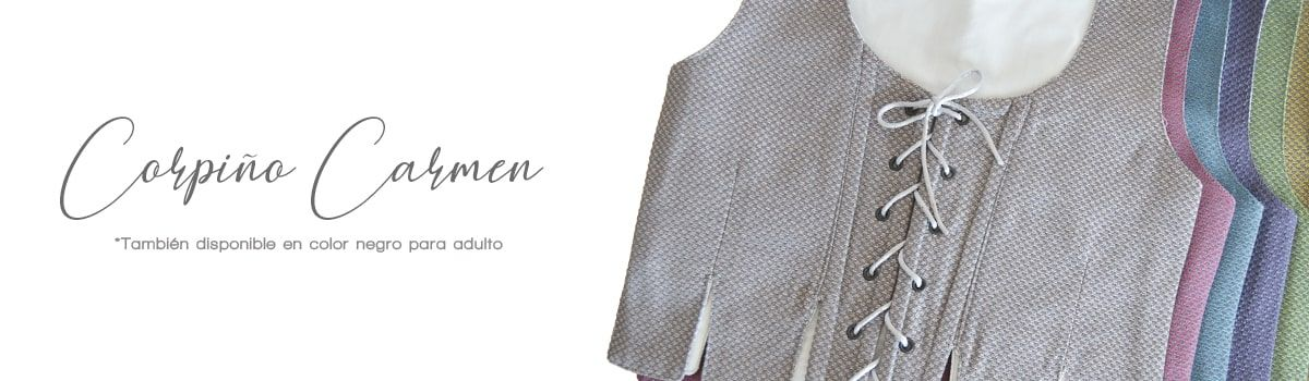Corpiño Carmen. Traje regional tienda online