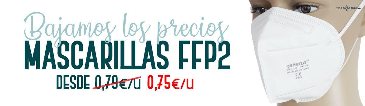 Mascarillas FFP2. Ofertas y comprar online